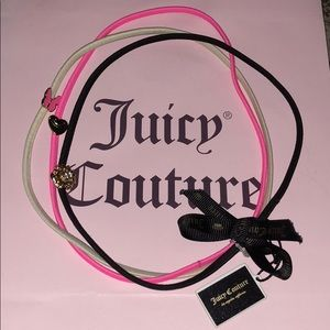 3 new ! Juicy couture headbands!