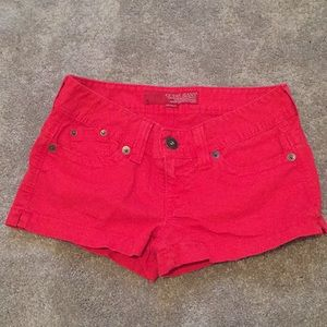 GUESS JEANS Red jean shorts, size 29 💋☀️
