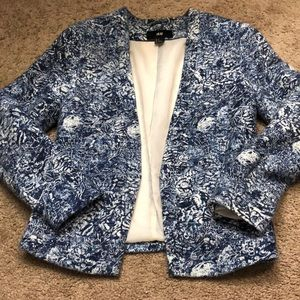 Patterned blazer from H&M size 6