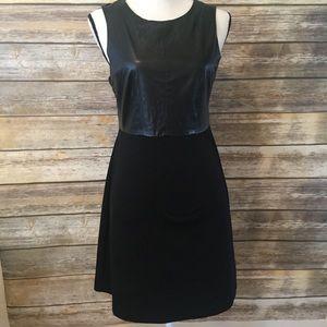 ModCloth Esley vegan leather dress size Medium