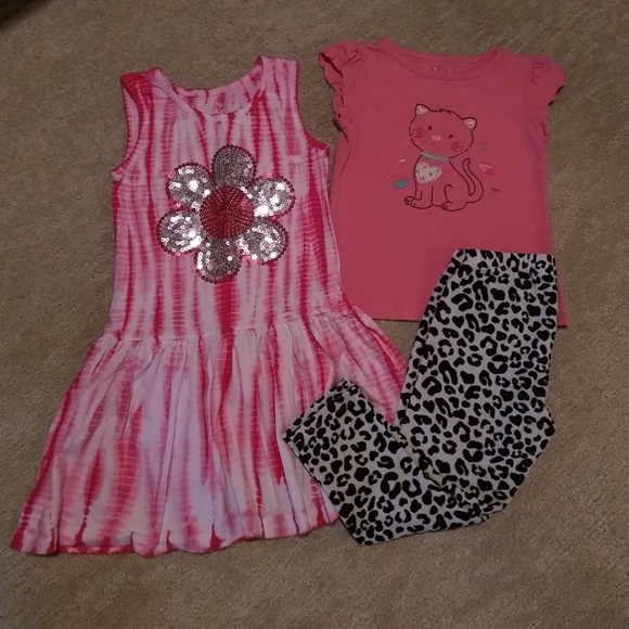 Flapdoodles Other - Jumping Beans Outfit and Flapdoodles Dress Sz 4 e3c0041bc