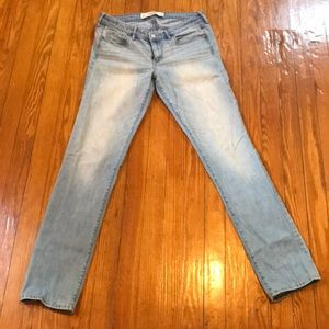 Abercrombie & Fitch Straight Light Wash 8R