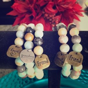 Jewelry - ALL AUTHENTIC STONES!!💥HAND MADE BRACELETS!!🌟