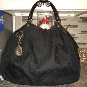 Gucci GG Canvas Sukey Shoulder Bag