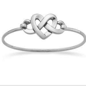James Avery Heart Knot Hook-On Bracelet