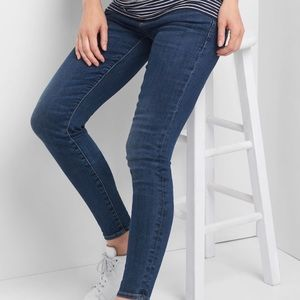 Gap Maternity True Skinny Jeans size 8R