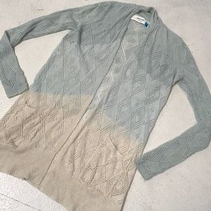 ANTHROPOLOGIE SPARROW ombré sweater. S