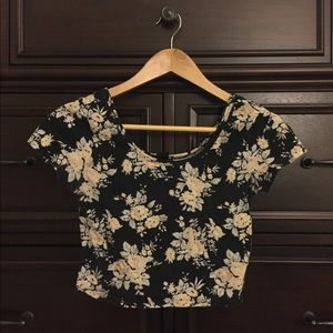 Floral Crop Top from Forever 21