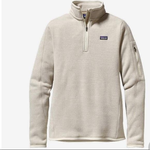 Patagonia Tops Womens Better Sweater 14 Zip Fleece Poshmark