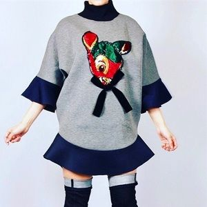 Ugly Sweater Dress!