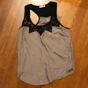 Lush blouse tank top
