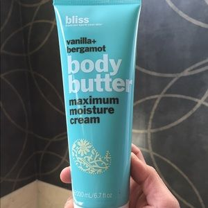 Bliss Body Butter Cream Vanilla + Bergamot