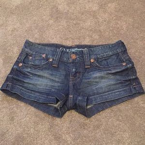 NWOT GUESS JEANS shorts, size 28, brand new!