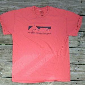 National Corvette museum shirt