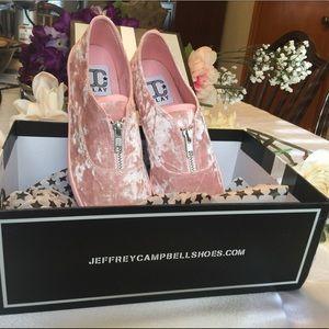 Jeffrey Campbell  Rollick Zip Sneaker NWT