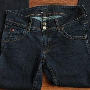 Hudson petite bootcut jeans