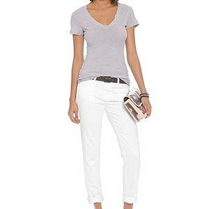 J Brand Jake pure white jeans
