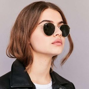 Ray ban original gold round sunglasses- rb3447