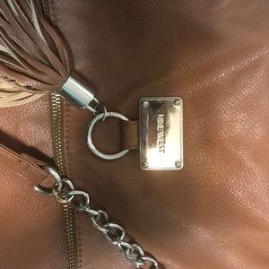 Brown Nine-West shoulder bag