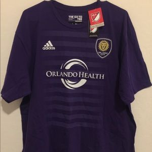 Authentic Adidas MLS Orlando City Nocerino #22 tee