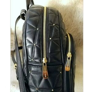 3694e9cf8a508a Michael Kors Bags - SALE NEW Michael Kors Leather Backpack purse Black