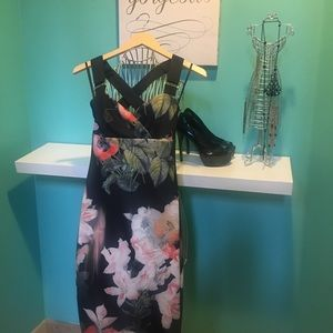 Ted Baker Dress (Opulent Bloom) size 1