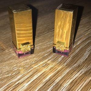 Set of 2 Estée Lauder deluxe size lipsticks