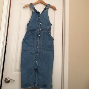 Pre loved Jean dress