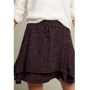 Anthropologie Dolan Left Coast Alize mini skirt