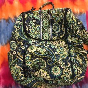 Rhythm & blues pattern Vera Bradley backpack