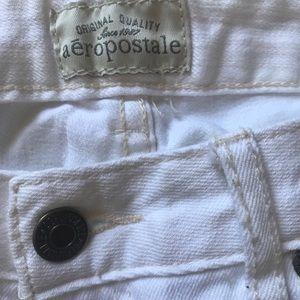 Aeropostale White Jeans
