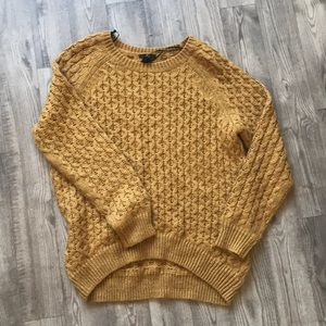 H&M Mustard Sweater
