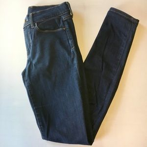 GAP 1969 Always Skinny jeans in Dark Indigo