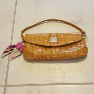 Liz Claiborne Alligator Leather Hand Bag, Clutch