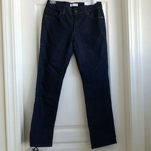 NWT LOFT Petite Straight Curvy Jeans