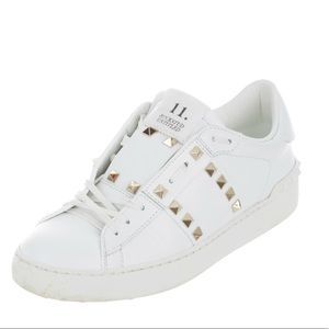 Authentic Valentino Rockstud Sneakers Size 8