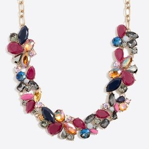J. Crew NWT STATEMENT COLORFUL NECKLACE!!