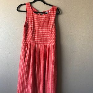 Orange Anthropologie Dress (with pockets!)