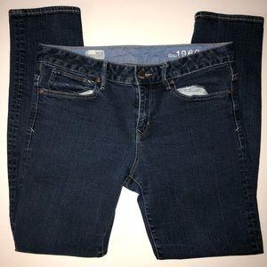Gap Forever Skinny Dark Blue Wash Jeans