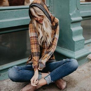Bethanie Softest Hoodie - MUSTARD