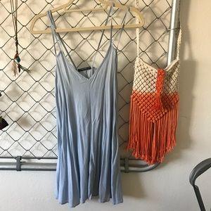 Brandy Melville light blue dress