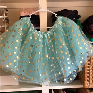 Dresses & Skirts - Adult size teal and gold tutu