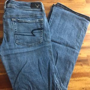 American Eagle Kick Boot Jean