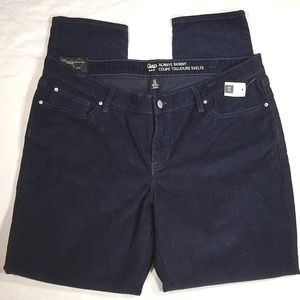 GAP~Always Skinny Coupe Toujou~Navy Blue Corduroys
