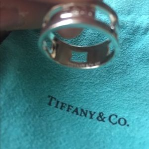 Authentic Tiffany ring box/bag great for Christmas