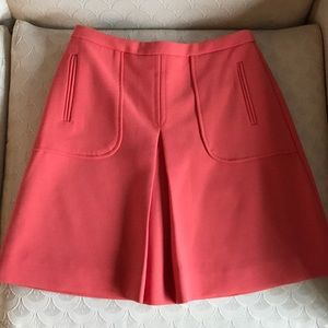 MAEVE Anthropologie Coral Pink Simple Retro Cut