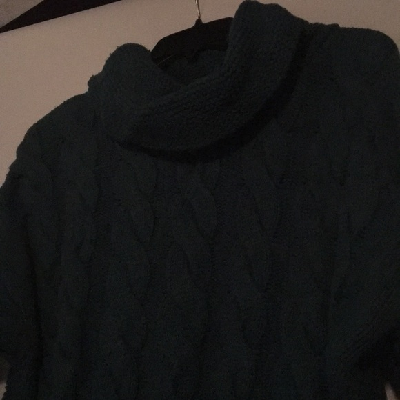 60% off Banana Republic Sweaters - Dark Green Banana Republic Cowl ...
