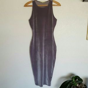 Gianni Bini velvet bodycon dress Small