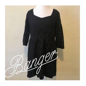 Little Black Lace Dress 🖤