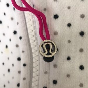 lululemon athletica Tops - Lululemon Polka Dot Scuba Hoodie